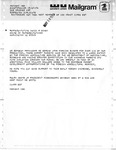 Mailgram and Letter Exchange Between Ralph Weems and David R. Bowen, May 1975