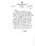 Letters, David R. Bowen from Congressman Thad Cochran and Senator John C. Stennis, June 1982