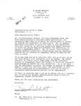 Letters Exchanged Between Constituent, G. Rives Neblett and Congressman David R. Bowen, October 1975
