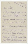Ida H. Grant to Nat, October 8, [1889]