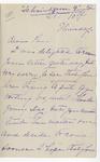 Ida H. Grant to Pa, October 10, [1889]