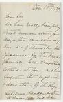 Ida to Sis, October 13, 1889
