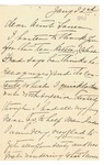 Ida to Aunt Laura, January 22, [1890]