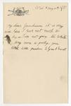 Ulysses S. Grant to Grandmama, May 14, 1889