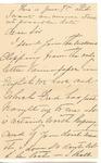 Ida Honoré Grant to Sis, June 7, [1890]