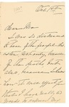 [Ida Honoré Grant] to Ma, October 1, [1890] [Incomplete?]