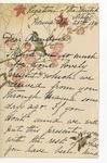 Julia Grant to Grandma, December 26, 1890