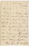 Ida H. G. to Sis, May 26, [1889]
