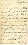 Ida H. Grant to Ma, November 2, [1891]
