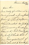 Ida Honoré Grant to Ma, December 19, 1891