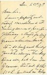 Ida to Sis, December 22, 1891
