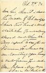 Ida H. G. to Sis, February 8, 1892