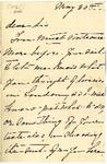 Ida H. Grant to Sis, May 30, [1892] by Ida Honoré Grant