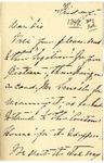 Ida H. Grant to Sis, [May 20, 1892]