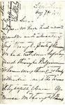 Ida H. Grant to Sis, August 7, 1892 by Ida Honoré Grant