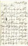 Ida Honoré Grant to Ma, August 12, 1892