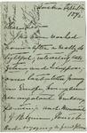 Ida H. Grant to Sis, September 11, 1892