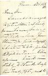 Ida H. Grant to Ma, October 15, 1892 by Ida Honoré Grant