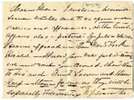 Ida H. Grant to Ma, [March 6? 1893] [Incomplete?] by Ida Honoré Grant