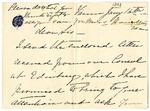 Ida H. Grant to Sis, January 16, [1893]