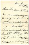 Ida H. Grant to Sis, February 4, 1893