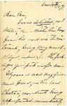 Ida Honoré Grant to Ma, November 13, 1891
