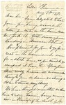 [Ida Honoré Grant] to Sis, August 8, 1892 [Incomplete]