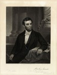 Engraving of Abraham Lincoln