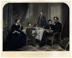 The Lincoln Family in 1861
