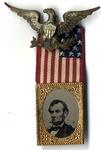 Abraham Lincoln 1864 Campaign Badge