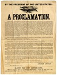 By The President Of The United States: A Proclamation.