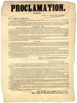 Proclamation by Kentucky Governor Thomas E. Bramlette and Others