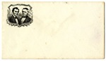 Abraham Lincoln and Hannibal Hamlin Pictorial Envelope