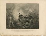 Battle of Chicamaug  Lt. Van Pelt Defending His Battery