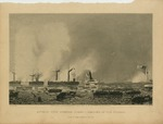 Attack upon Roanoke Island - Landing of the Troops