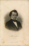 Engraved Portrait of Stephen A. Douglas