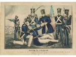 Death of Col. Clay, Battle of Buena Vista, Feby. 23d. 1847