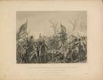 Battle of Murfresboro - Capture of a Confederate Flag.