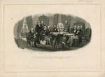 President Lincoln and His Cabinet, with Lt. Gen. Scott, in the Council Chamber at the White House