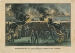 Bombardment of For Sumter, Charleston Harbor. From Fort Moultrie, 12th & 13th of April 1861.