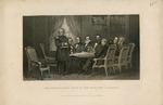 Gen. Scott Taking Leave of the President & Cabinet