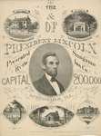 The Home & Tomb of President Lincoln Presented by the Sangamo Ins. Co....Springfield, Ill.
