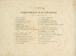 Index to Confederate War Etchings