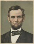 Abraham Lincoln, Color Head-and-Shoulders Portrait, Facing Front