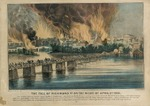 The Fall of Richmond VA on the Night of April 2nd 1865.