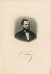 Oval Bust Portrait of Carl Schurz