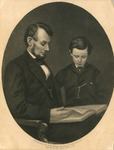 Portrait of Abraham and Tad Lincoln