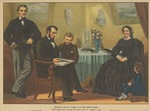 Lincoln and His Family-At the White House