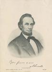 Portrait of Abraham Lincoln, President 1861-1865
