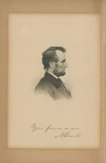 Your Friend, Forever A. Lincoln Engraving